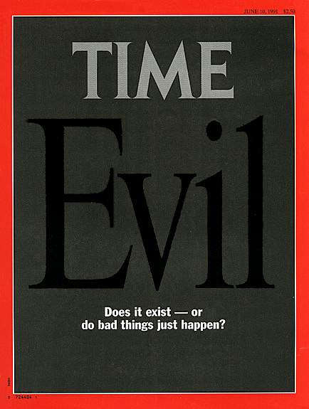 Time cover - Evil